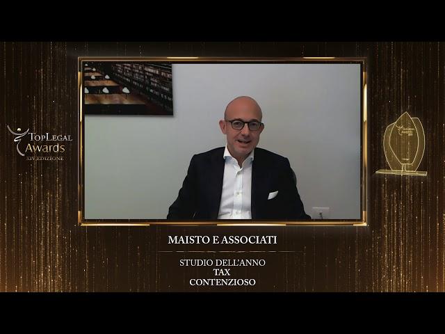 Marco Cerrato, Maisto e Associati - TopLegal Awards 2020