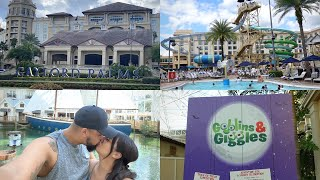 We Spent The Weekend at Gaylord Palms | Goblins & Giggles | Waterpark Fun | Room & Resort Tour