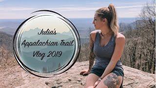 Julia's 2019 AT Vlog #2 - Week 1 part 1 - Springer Mountain to Unicoi Gap