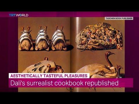 Showcase: Salvador Dali's Cookbook 'Les Diners de Gala'