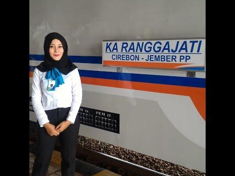 Full Trip Report KA Ranggajati Cirebon-Yogya di Perjalanan Perdana
