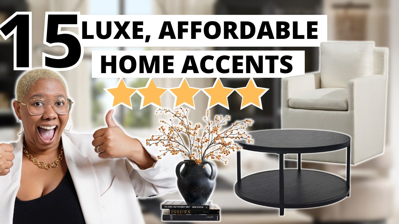 AFFORDABLE Home Decor that Looks & Feels Expensive!  Designer's ALL TIME Faves: Amazon, IKEA,Wayfair