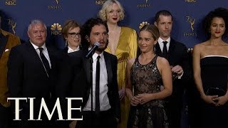 Kit Harington Gave Rose Leslie The Most Heartfelt Shoutout At The Emmys | TIME