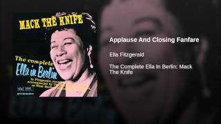 Applause And Closing Fanfare (Live In Berlin/1960)