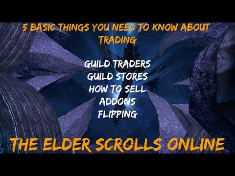 Beginner's Guide To Guild Traders & Selling To Other Players | The Elder Scrolls Online