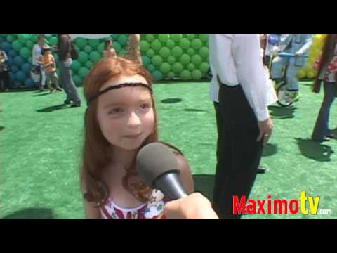 """PIPER HARRIS Interview at Disney's """"UP"""" Premiere May 16, 2009"""