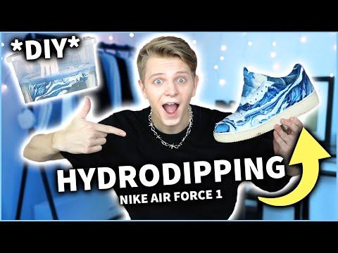 HYDRODIPPING NA NIKE AIR FORCE 1😱 *DIY* | Dominik Rupiński