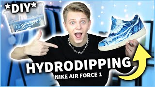 HYDRODIPPING NA NIKE AIR FORCE 1😱 *DIY* | Dominik Rupiński