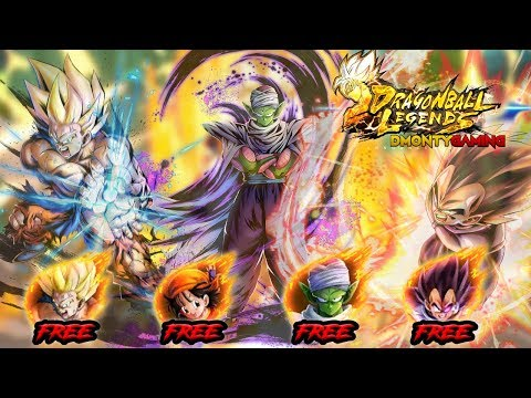 LEGENDS GIVES YOU 4 SPARKING UNITS BY JUST RANKING UP!?   DRAGON BALL LEGENDS