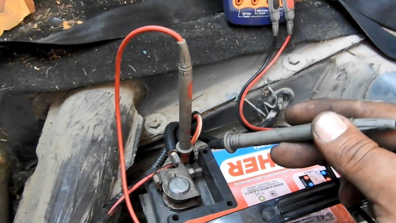 porque se descarga la bateria del coche