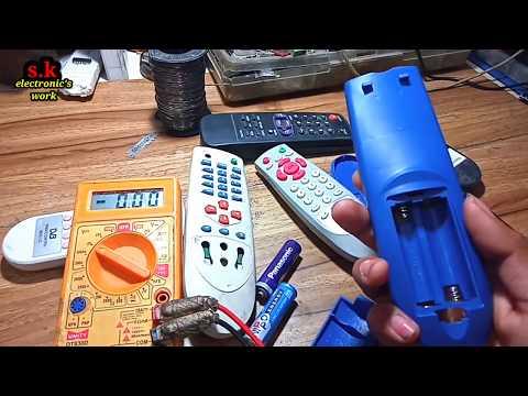 Remote Repair, tv remote repair krna sekhe, all in one remote repair,s k electronic's work
