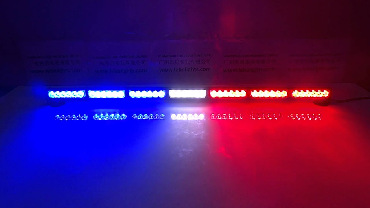 Awesome LB1203 7 Red White And Blue, LED Dash Light, LED Police Light Design Inspirations