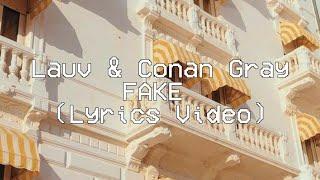 Gambar Lauv & Conan Gray - Fake