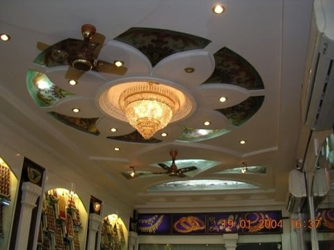 Latest Unique False Ceiling Types Designs For Hall 1
