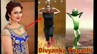 Dame TU casita Divyanka Tripathi Alien dance challenge 2018