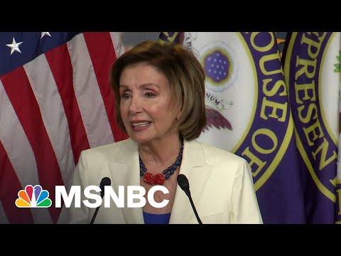 Pelosi Criticizes House Members Who Choose Not To Be Vaccinated   MSNBC