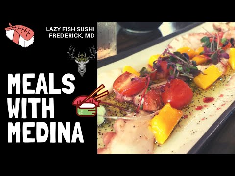 Lazy Fish Sushi In Frederick Maryland - Still My Favorite.