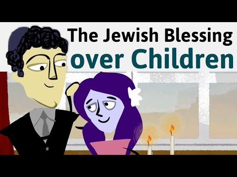 graphic relating to Shabbat Blessings Printable known as How towards Say the Jewish Blessing about Little ones