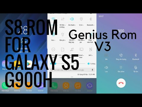 [ How to ]Samsung Galaxy S5 G900H S8 rom - Genius Rom v3 2 final | NOTE 8  Features premium