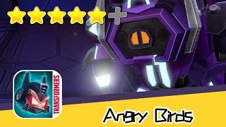Angry Birds Transformers - Shockwave Walkthrough Art of Explosion Recommend index five stars