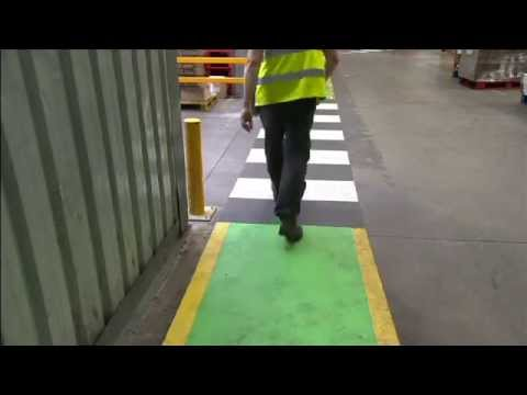 factory warehouse traffic management safety dvd and video