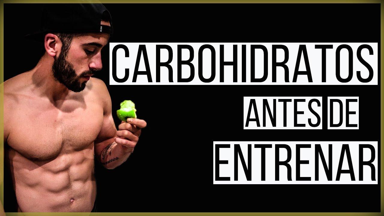 batido carbohidratos antes o despues de entrenar