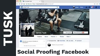 A Few Tips to Optimise Your Facebook for Social Proof
