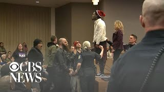 Chaos over Stephon Clark protest arrests at Sacramento City Council meeting