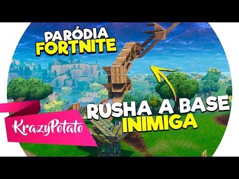 ♪ RUSHA A BASE INIMIGA (FORTNITE) | PARÓDIA DE FULERAGEM - MC WM