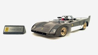 1/18 GMP Ferrari 312 P Prototype Unboxing and Review