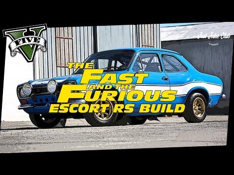 Fast & Furious 6 Ford Escort RS Movie Car Build Tutorial: GTA 5 (RETINUE)