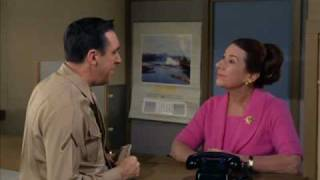 Gomer Pyle (Jim Nabors) gets hassled at the phone company
