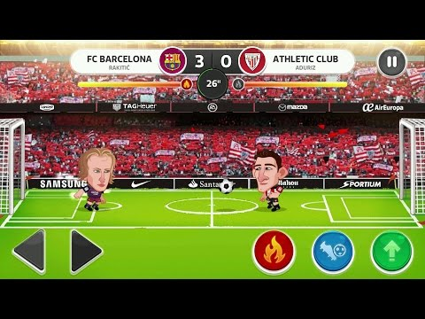 Head soccer la liga 2017 android gameplay #2