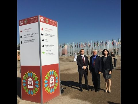 International Solar Energy Society at COP22 with Members, Partners and Supporters