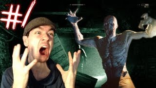 Outlast - Part 1 | SO FREAKING SCARY | Gameplay Walkthrough - Commentary/Face cam reaction