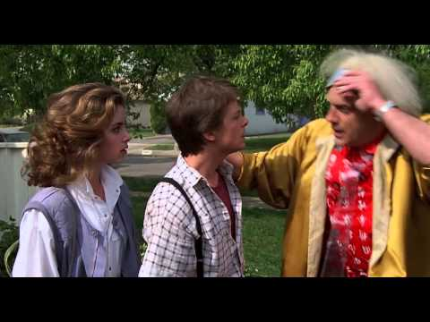 Back to the Future 1985  ending scene 1080p  HD