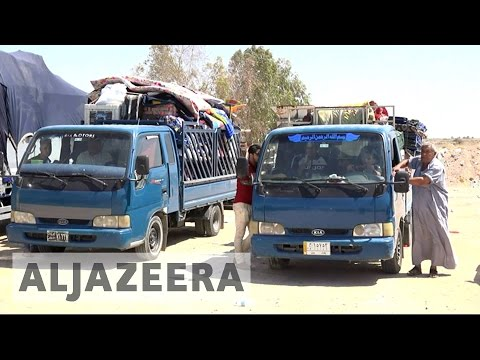 Iraq: First families return to Fallujah after fleeing ISIL
