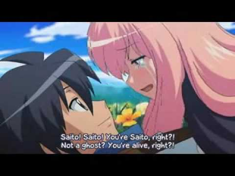 Louise and Saito - My Happy ending