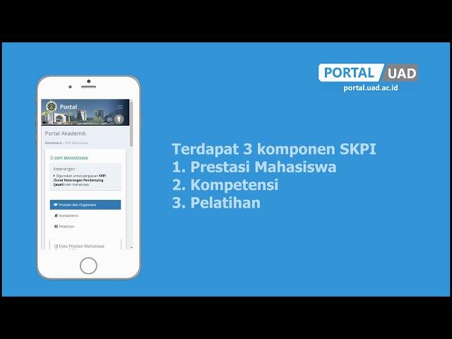 PANDUAN PRESTASI MAHASISWA & SKPI - PORTAL UAD