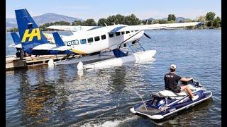 LIVE: Harbour Air lands
