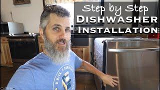 Dishwasher Installation in the Barndominium