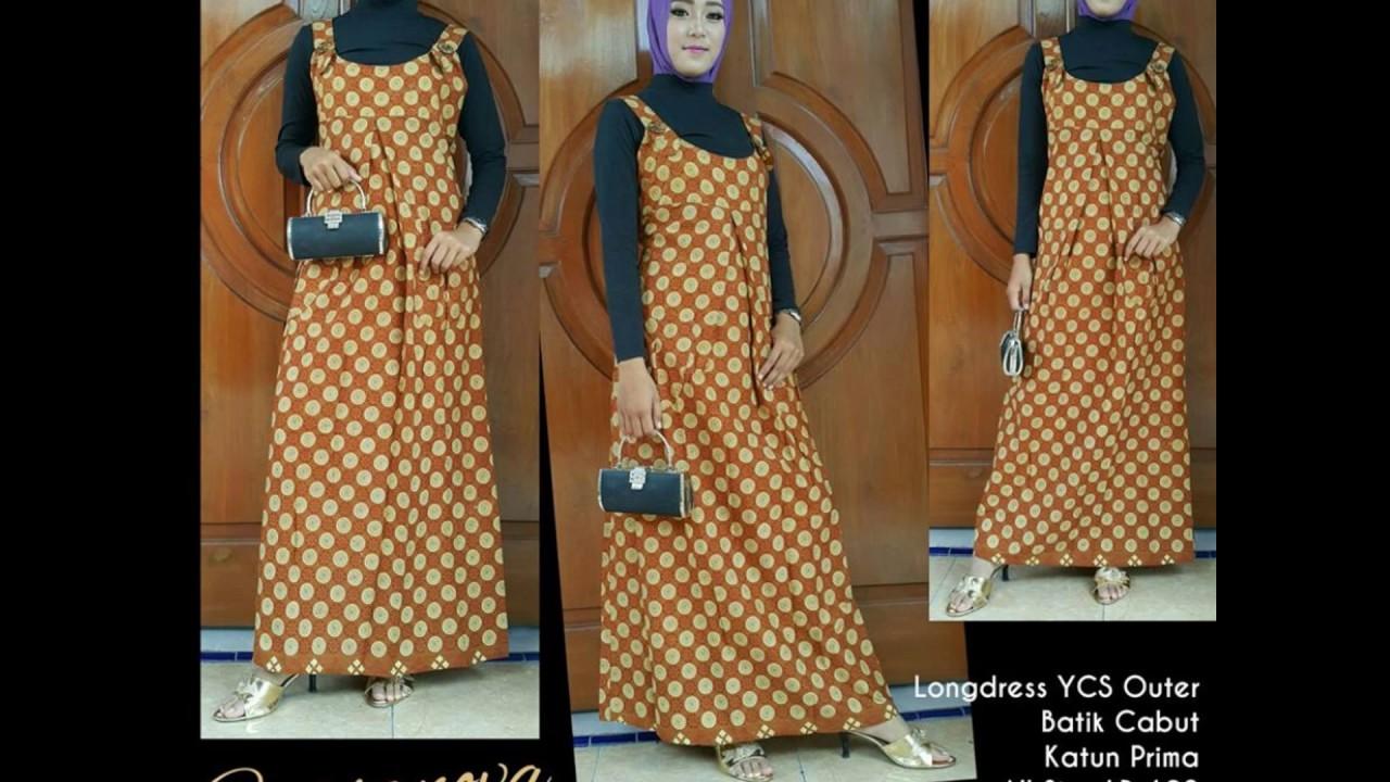 Wa 0812 2533 6662 Gamis Batik Haifa Gamis Batik Heringborn Youtube