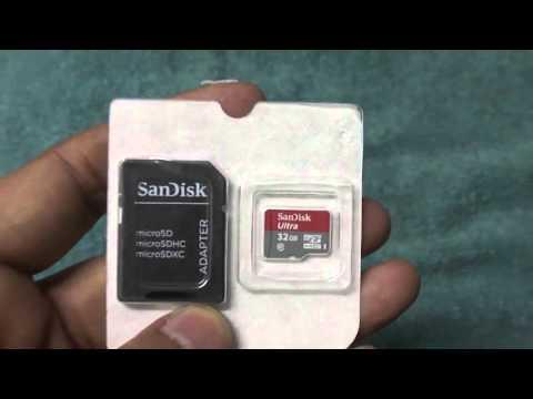 SanDisk Ultra 32 GB MicroSDHC Class 10 80 MBS Memory Card