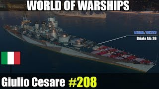 Giulio Cesare - World of Warships - Test i gameplay