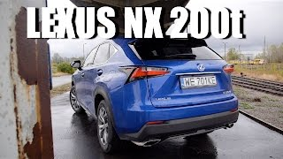 Lexus NX 200t (ENG) - Test Drive and Review