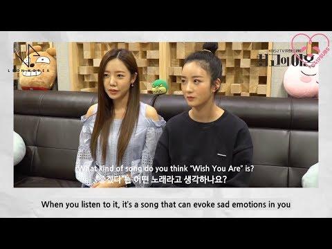 [0419SUBS] Apink BnN (Bomi, Namjoo) - 'Wish You Are' Making