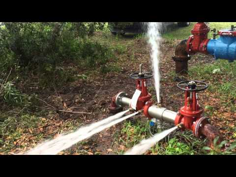 Backflow preventer or installation 3 inch.