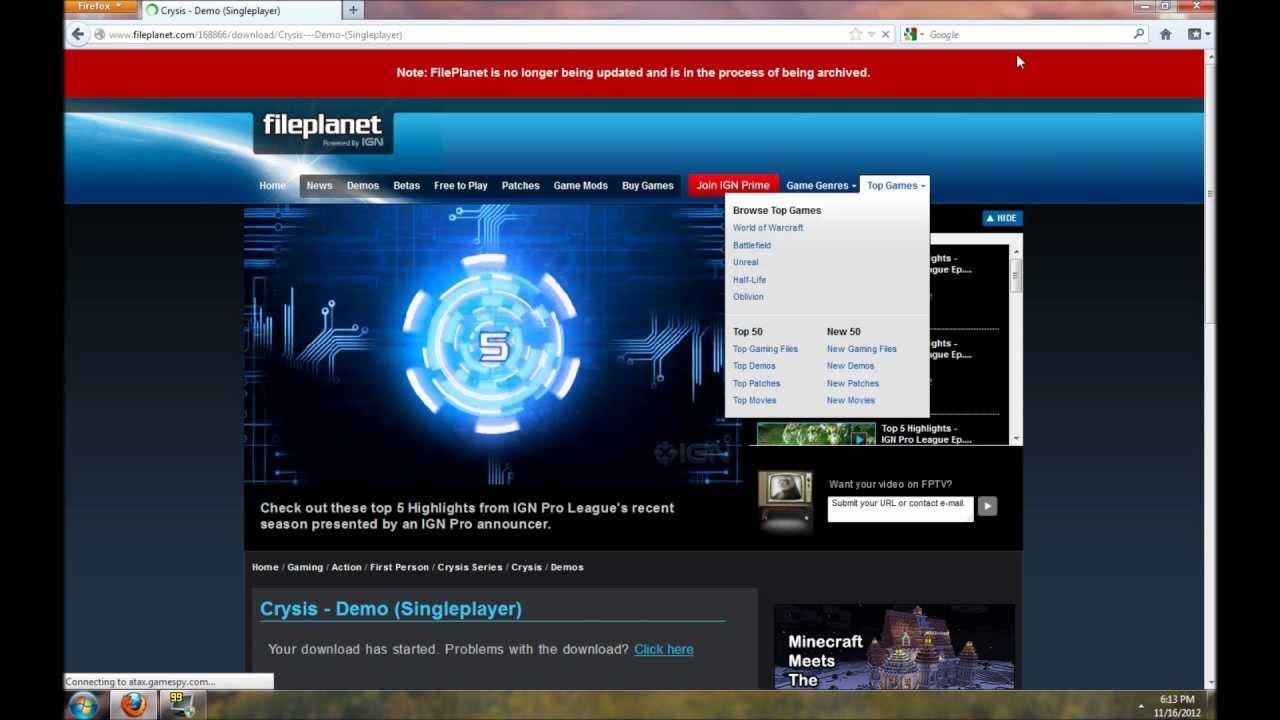 Crysis 2 download.