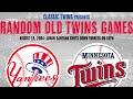 Yankees @ Twins (08/18/2004)