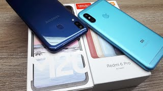 Galaxy M20 vs Redmi 6 Pro Special Edition Blue Colour - Which Should You Buy ?